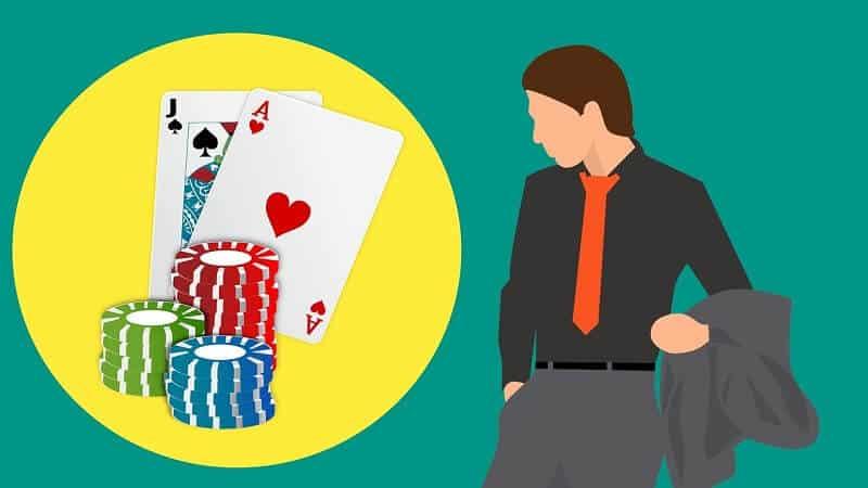 olika pokerspel på nätet - marker och kort