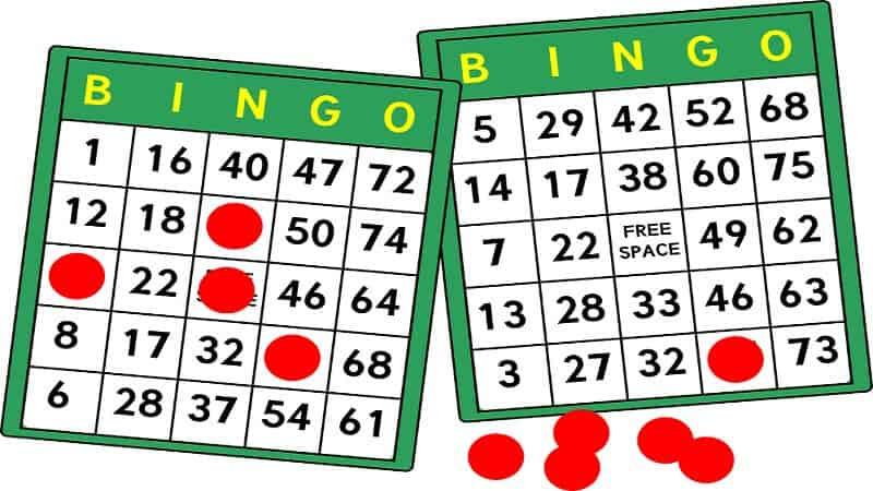 hur spelar man bingo på nätet - bingobrickor
