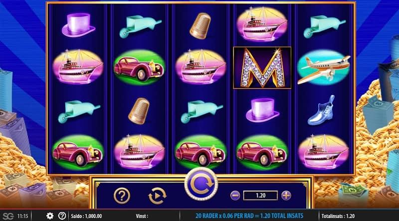 spela monopol på nätet med riktiga pengar - monopoly big money reel