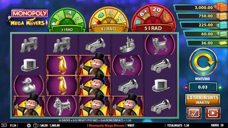 spela monopol på nätet med riktiga pengar - monopoly mega movers