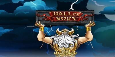 slots med höga vinster - hall of gods