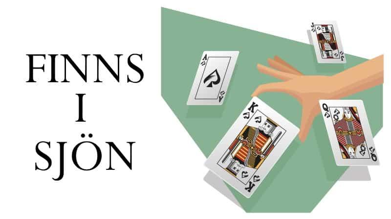 finns i sjön kortspel regler