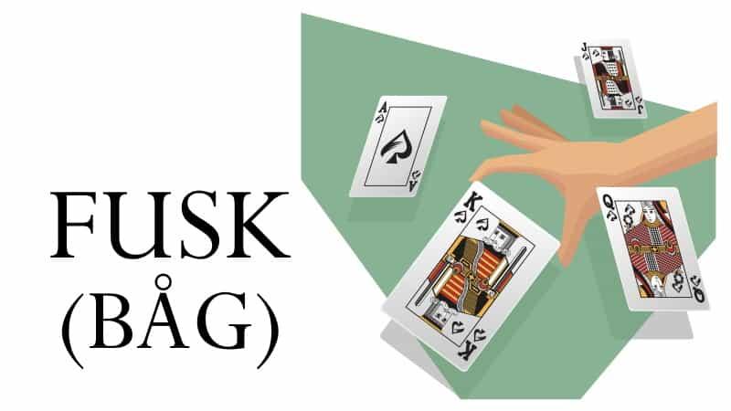 fusk kortspel regler - båg