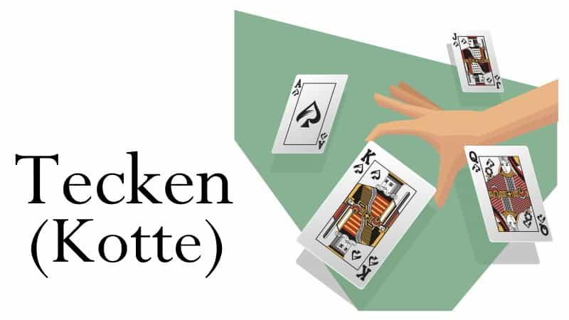 tecken kortspel regler