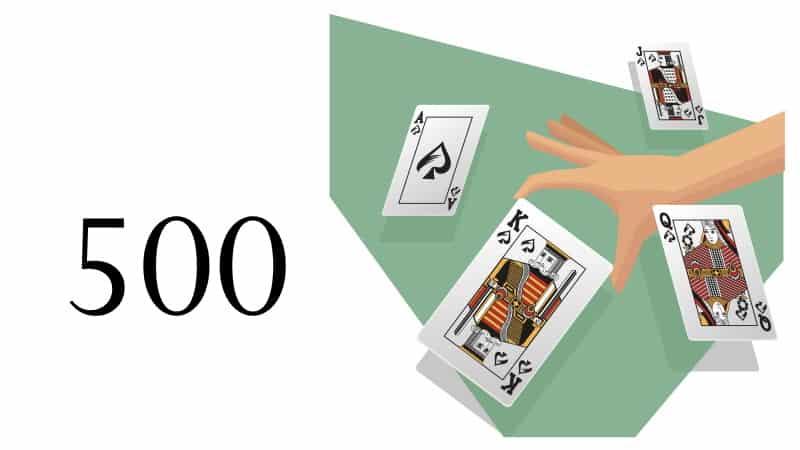 kortspel femhundra regler