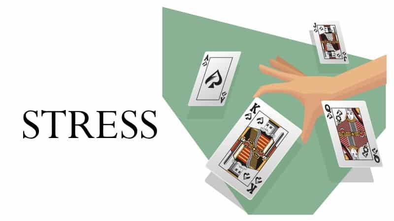 stress kortspel regler