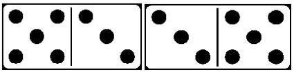 dominobrickor poäng