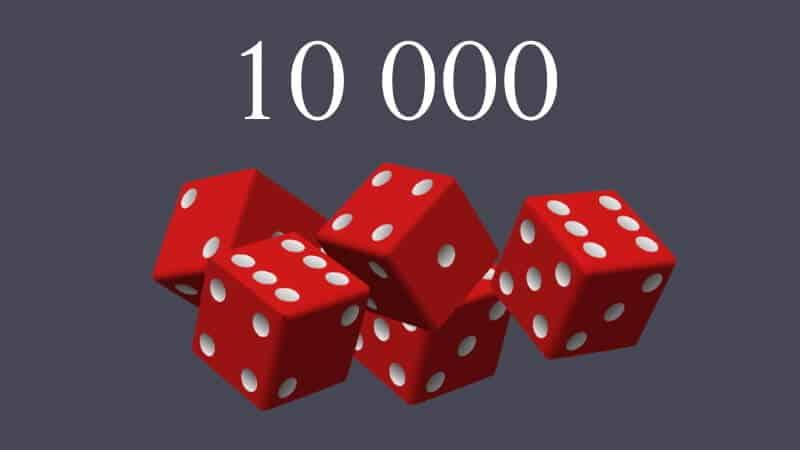 tärningsspel 10000 regler