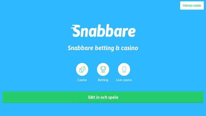 snabbare casino registrering - logga in