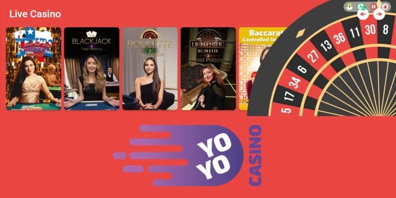yoyo live casino