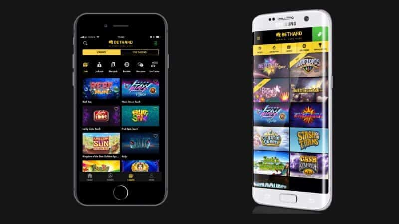 bethard mobilcasino app