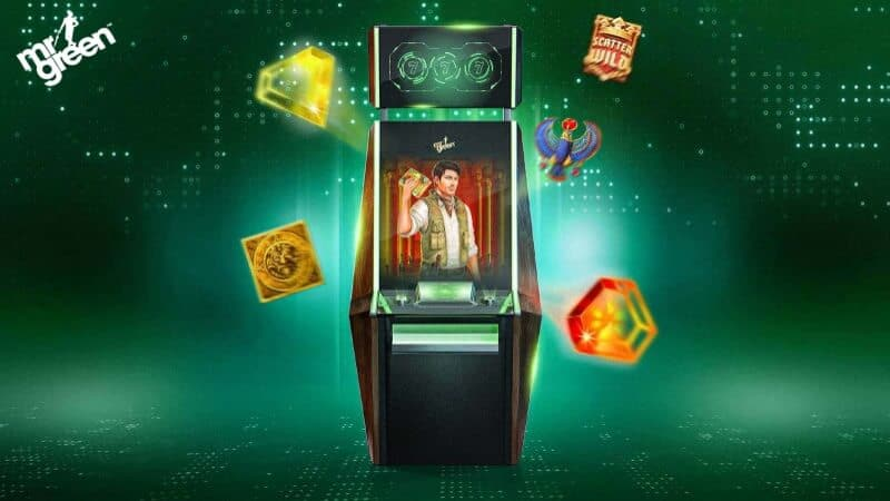 mr-green spelautomater slots