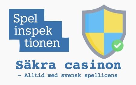 svenska säkra casinon